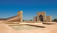 بمرصد «أولغ بيك» بسمرقند، أوزبكستان، اكتمل بناؤه في القرن الخامس عشر، واستخدمه العديد من مشاهير علماء الفلك المسلمون. PHOTO YOKO AZIZ/ALAMY