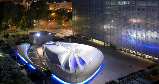 Futuristic architecture by Zaha Hadid Photo copyright credit: Design Party