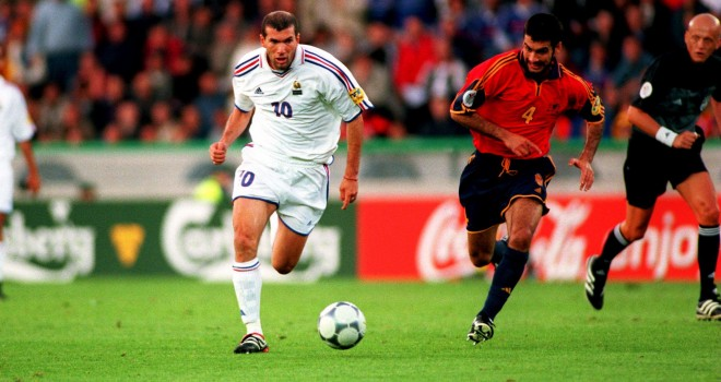 Soccer - Euro 2000 - Quarter Final - Spain v France