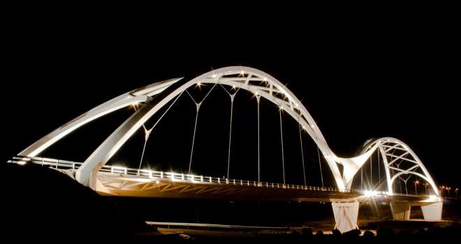 Ibn Firnas bridge Cordoba tribute