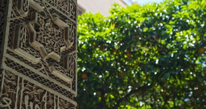 Royal palace detail