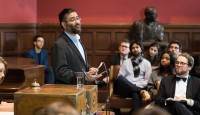Usama Hasan at the Oxford Union